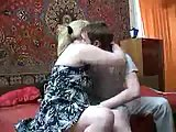 Blonde Mature Gets Screwed & Cummed
