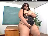 BBW teacher banged by horny student