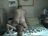 Mature gays fucking at home