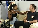 She Fucks This Guy black ebony cumshots