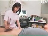 Kinky asian nurse has good skills