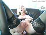 Sexy Grandma In Stockings