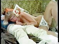 Vintage sex with cute milf