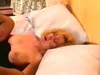 Vintage couple having oral and vaginal sex