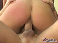 Courtney Simpson poked by POV cock