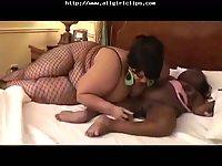 Black BBW Handicapped Midget