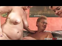 German Mature Couple with Teen Girl
