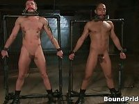 Leo and Trent in very extreme gay porn