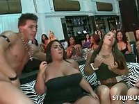 Sex party with strippers