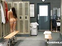 Celeste Star, Katsuni - Locker Room Seduction