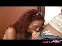 Redhead Mature MILF and Sloppy  Neighbor