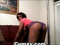 Big Breasts Ebony Chicks Masturbating On Webcam