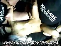 Danish swinger chick is gagged and gangbanged in adult cinema