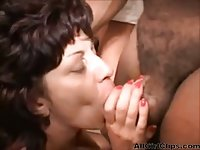 Dirty Grannies Interracial Gangbang scene 3