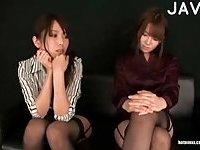 Japanese sluts cock sucking
