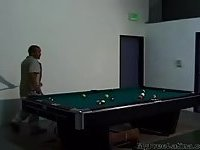 Two Mexicans Fuck After A Game Of Pool