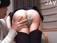 Babe In Stockings Gets Fucked