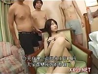 let horny big boobs wife gangbang