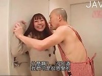 Small tits Japanese gets her cunt drilled
