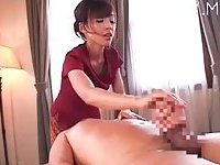 Japanese sex massage!