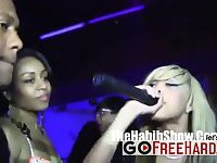 Ebony Sluts Show Off Their Booties At The Club