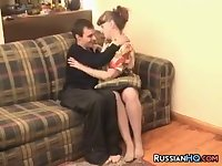 Russian Mom Gets Fucked