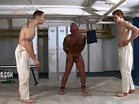Naked Human Punch Bag