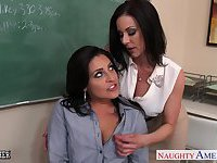 Busty teachers fuck