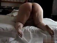 Her ass got hard