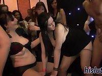 Sluts have kinky fun at a party