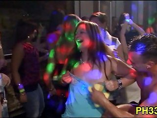 Very hot group sex in club scene 9