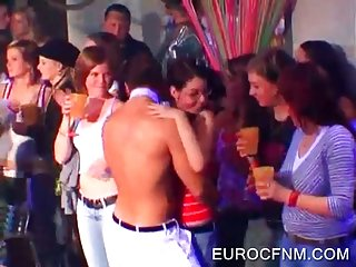 Stripper showing penis at party
