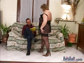 Milena gets laid