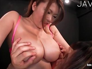 Busty jap milf sucks guy cock | Big Boobs Update