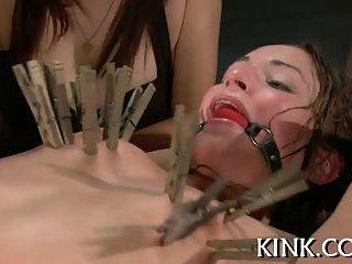 Pretty sexy girl has dark fantasy
